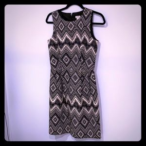 J crew tribal print dress